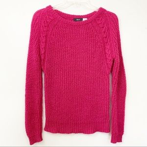 BDG from UO Mohair blend, cable knit sweater S